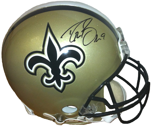 746b1edcc Drew Brees Signed New Orleans Saints Authentic Proline Helmet